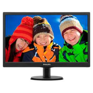 "Philips 203V5LSB26 19.5"" LED Monitor"