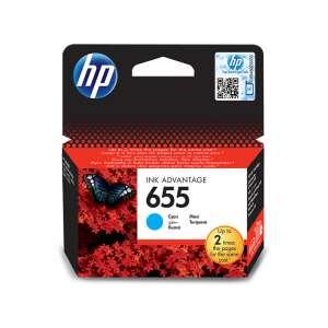 HP 655 CZ110AE Ink Advantage patron ciánkék