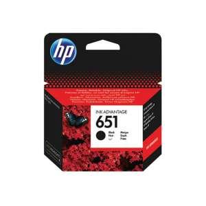 HP Patron No 651 fekete tintapatron