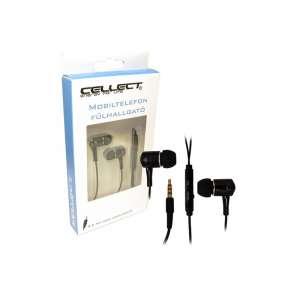 Cellect sztereó 3,5 jack fülhallgató, fekete