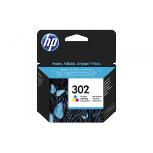 HP No302 (F6U65AE) tricolor színes