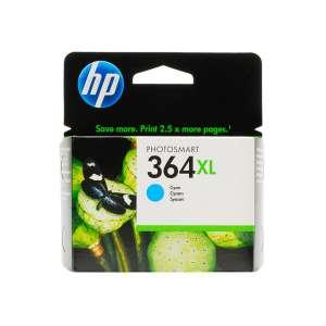 HP 364XL CB323EE patron ciánkék