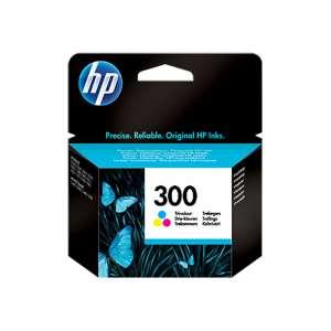 HP 300 CC643EE patron színes