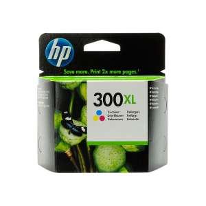 HP 300XL CC644EE patron színes