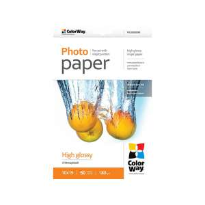 ColorWay magasfényű 10×15cm 180g Fotópapír