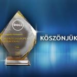 """Dell Partner díj - """"A legjobb márkaépítő"""""""