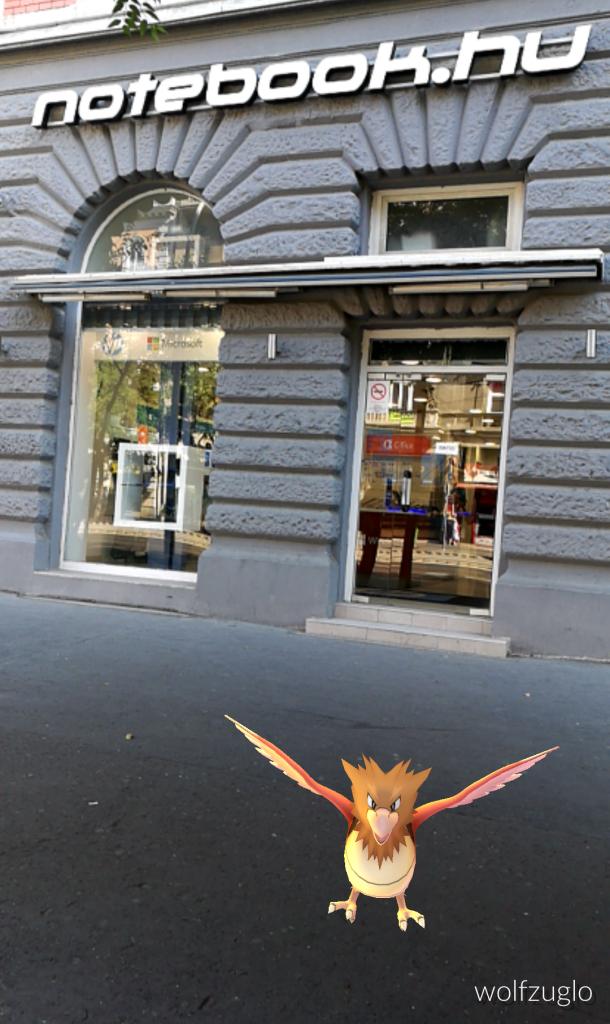 Pokémon Go játék feladat 1. része