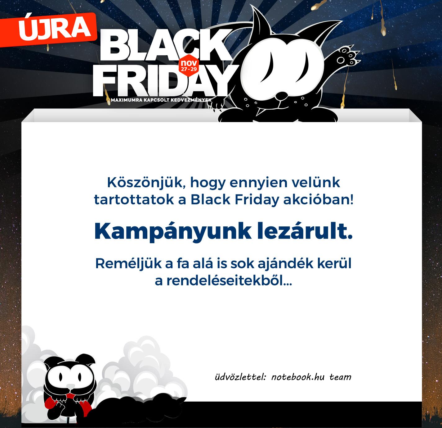 Black Friday 2020 - Notebook.hu