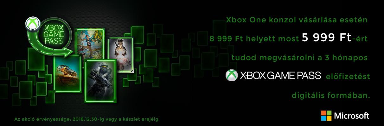Xbox Game Pass promóció