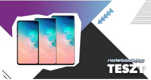 Samsung S10E, S10 és S10+ Teszt | Hihetetlen család