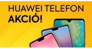 HUAWEI HETEK: telefon és tablet akció!
