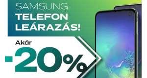 SAMSUNG TELEFON LEÁRAZÁS!