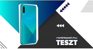 Samsung Galaxy A30s teszt | Helló, szépségem!