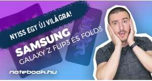 Samsung Galaxy Z Fold3 és Z Flip3 teszt   Nyiss egy új világra!