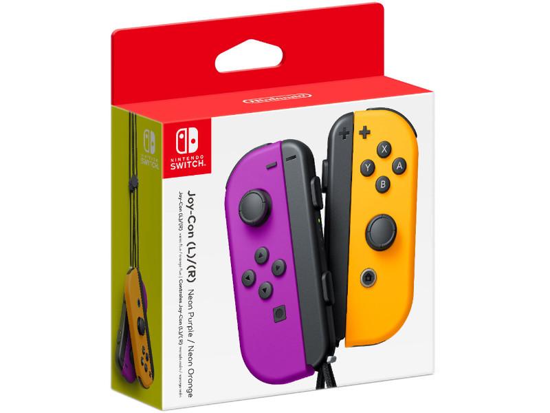Nintendo Switch Joy-Con Kontrollercsomag (Neon
