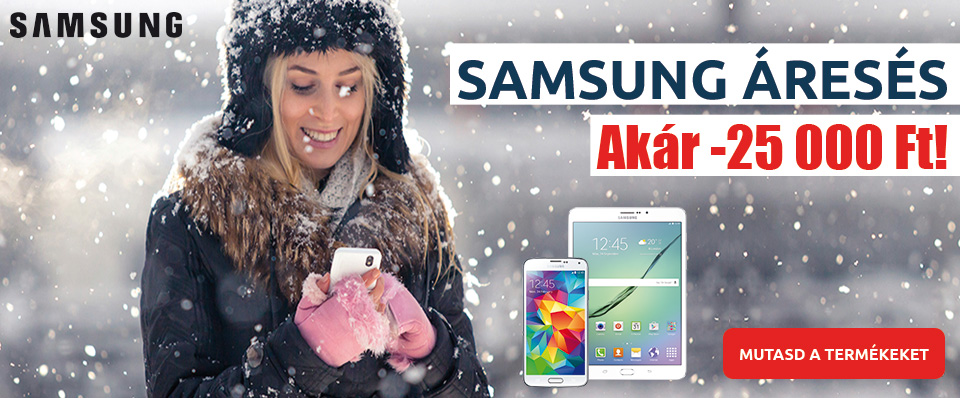 Samsung Áresés!