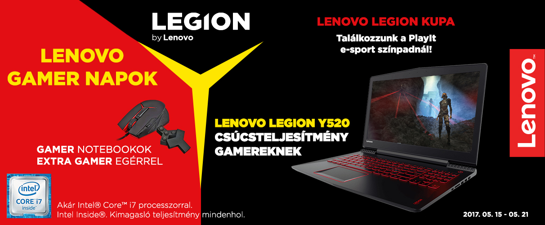 Lenovo Gamer napok!