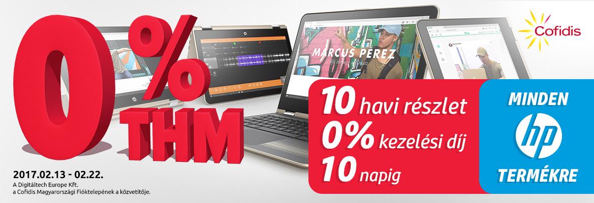 HP termékek 0% THM-el!