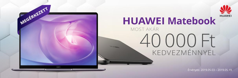 Huawei Matebook akció!