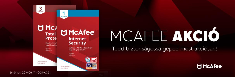 McAfee Vírusvédelmi megoldások