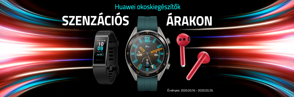 Huawei Wearable akció!