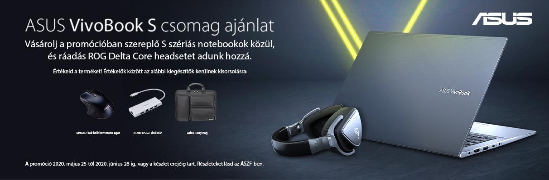 ASUS VivoBook S Promóció