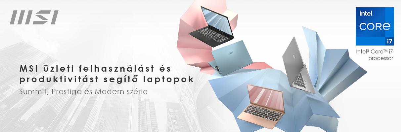MSI 11.generációs Intel processzorral