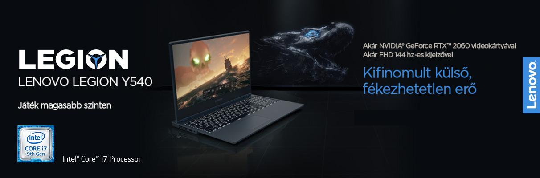 Lenovo Legion Y540 gamer notebook
