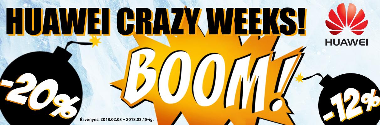 Huawei Crazy Week