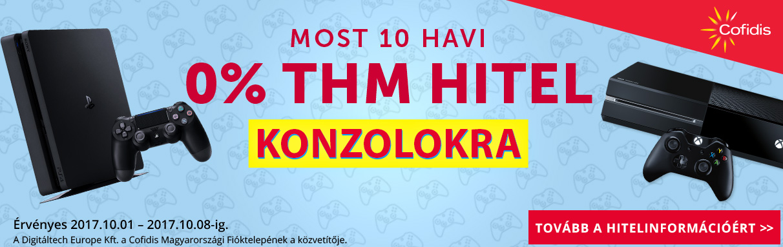 Konzolok 0% THM-el! 285dbce446