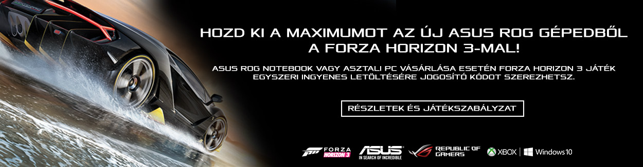 Asus ROG + Forza Horizon 3