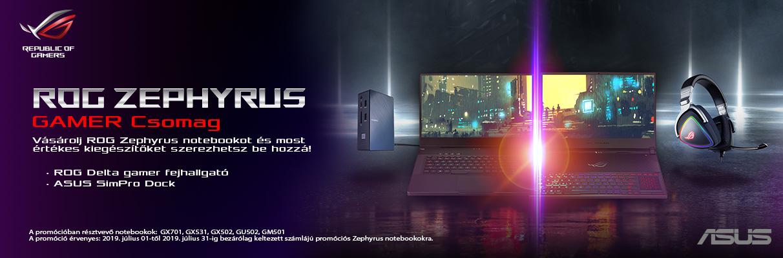 Asus Zephyrus S csomag ajánlat!