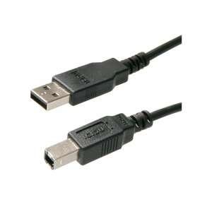 WIRETEK kábel USB Összekötő A-B, 1,8m, Male/Male