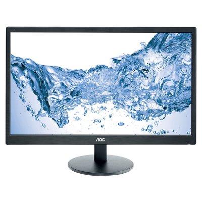 "AOC 23,6"" LED Monitor (E2470SWH) fekete"