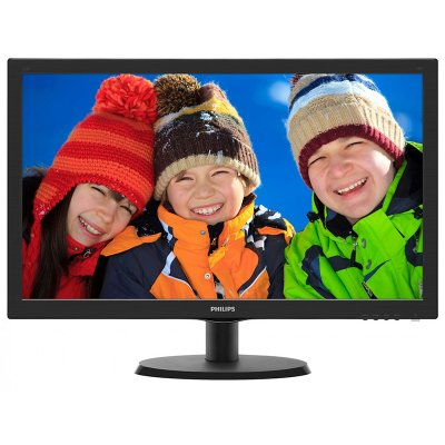 "Philips 223V5LHSB2 21.5"" LED Monitor"