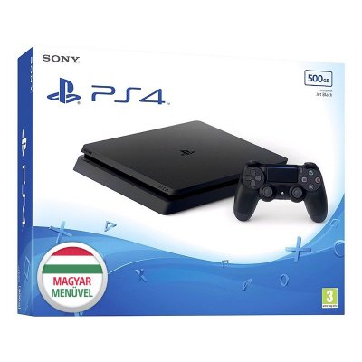 Sony PlayStation 4 (PS4) Slim 500GB Fekete