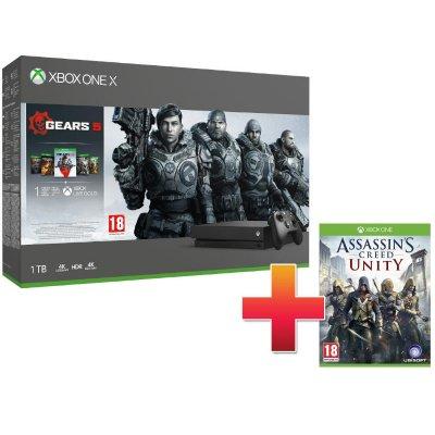 Xbox One X 1TB Konzol Gears 5