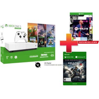 Xbox One S 1TB All-Digital Edition + Minecraft + Sea of Thieves + Fortnite
