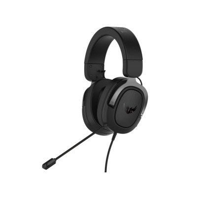 ASUS TUF GAMING H3 headset, Fegyvermetál
