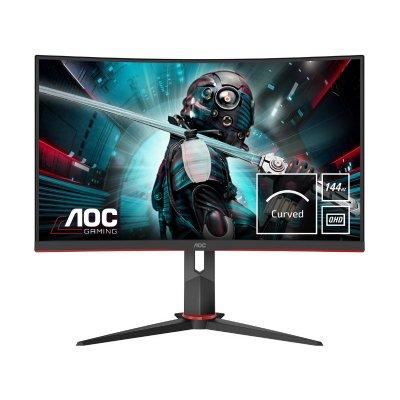"""AOC 27"""" QHD (2560x1440) Gaming ívelt VA monitor (CQ27G2U/BK)"""