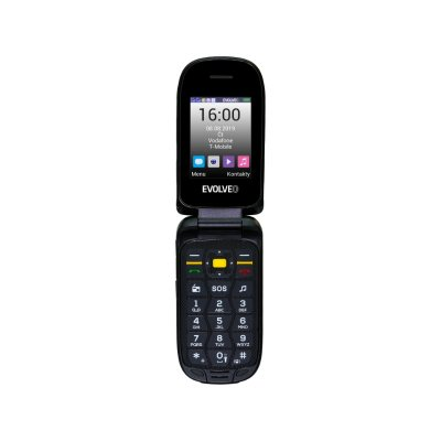 EVOLVEO STRONGPHONE F5 Dual-SIM (SGM SGP-F5) fekete/sárga