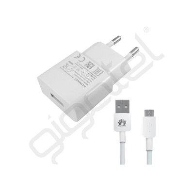 Huawei Hálózati töltő 1A + microUSB kábel (GP-65992 ) fehér