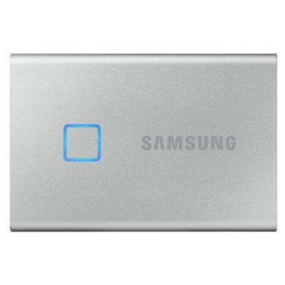 SAMSUNG Hordozható SSD T7 Touch, 1TB (MU-PC1T0S/WW) Szürke