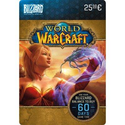 Blizzard World of Warcraft 60 Napos Előfizetés Egyenleg (PC) DIGITÁLIS