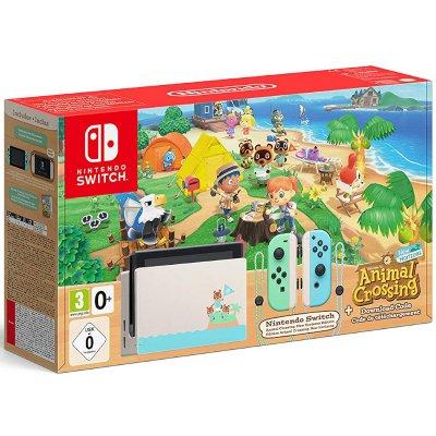 Nintendo Switch Konzol Animal Crossing: New Horizons Bundle