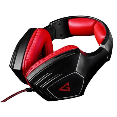 Modecom MC-831 Rage Red Mikrofonos Fejhallgató Fekete/vörös