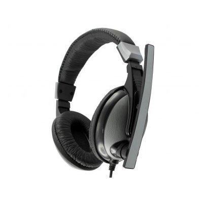 SBOX HS-302 Gaming Mikrofonos fejhallgató (W027277) Fekete/Szürke