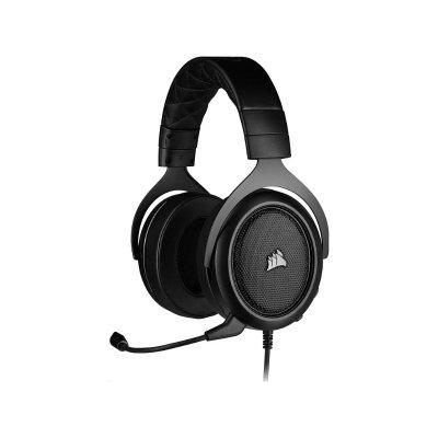 Corsair HS50 Pro Sztereó Gaming Mikrofonos Fejhallgató (CA-9011215-EU) Carbon