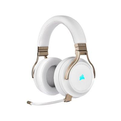 Corsair Virtuoso RGB SE Vezeték Nélküli 7.1 Surround Gaming Headset (CA-9011224-EU) Fehér
