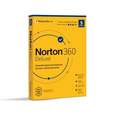 Norton 360 Deluxe 50GB HU 1 Felhasználó 5 Eszköz 1 Év (Dobozos)